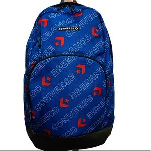 Converse Full Size Backpack in Blue w/Logo Design